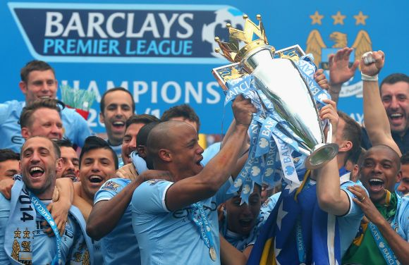 Champions Manchester City