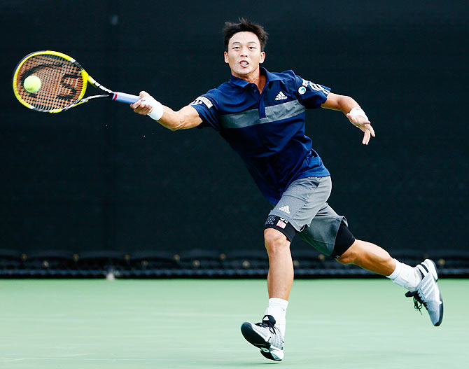 Yen-Hsun Lu of Chinese Taipei