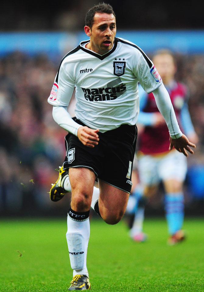 Michael Chopra of Ipswich Town