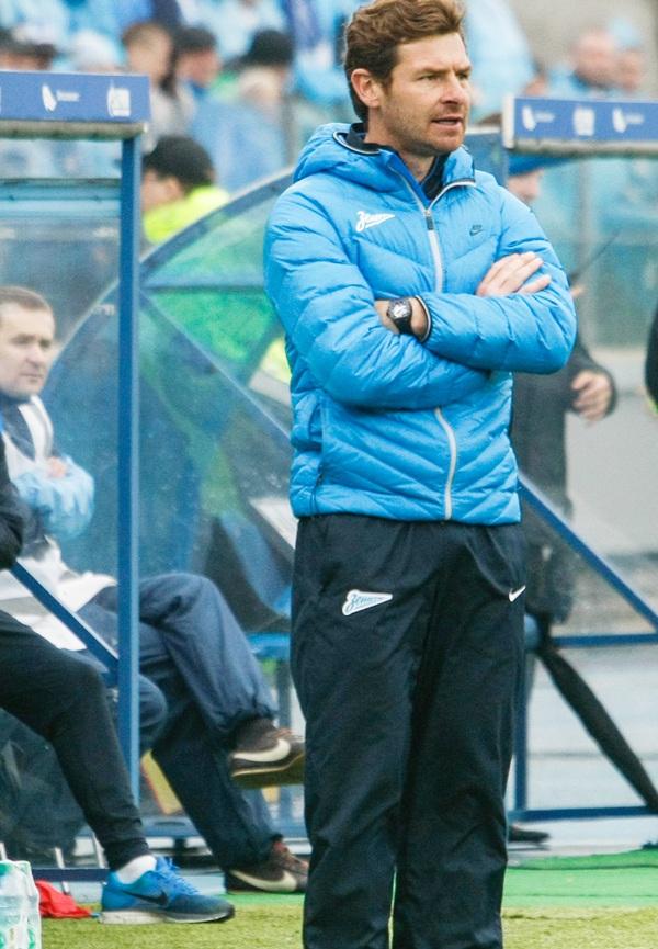 FC Zenit St. Petersburg head coach Andre Villas-Boas