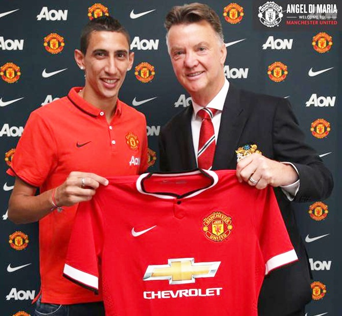 EPL Updates: United's Van Gaal says Di Maria won't provide instant fix