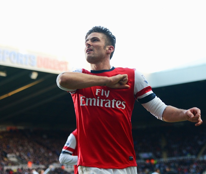 Olivier Giroud of Arsenal