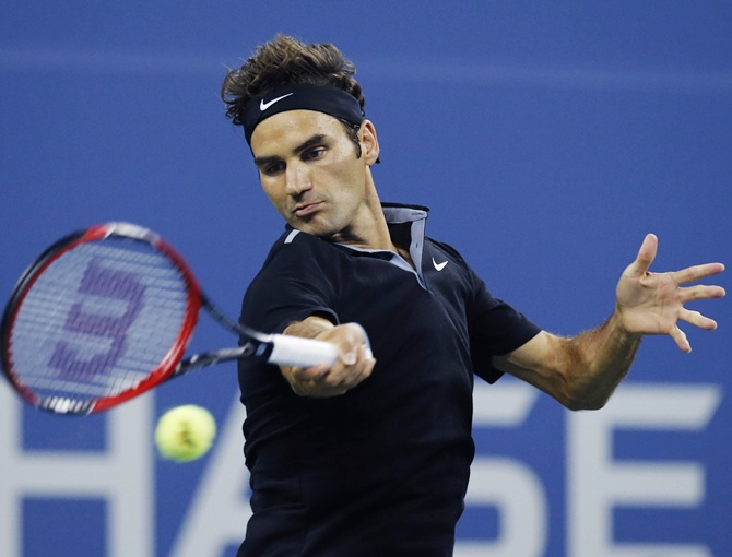US Open: Federer beats Matosevic, sails into second round