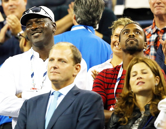 Look who dropped in to support Roger Federer at US Open…