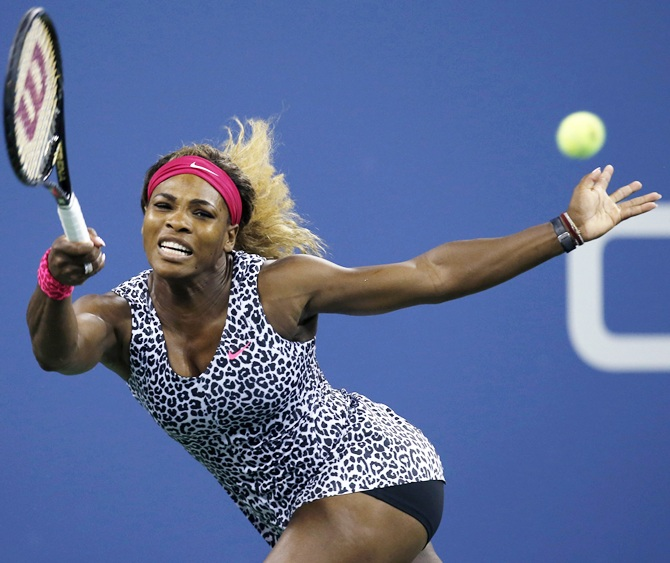 US Open: Serena tops Taylor