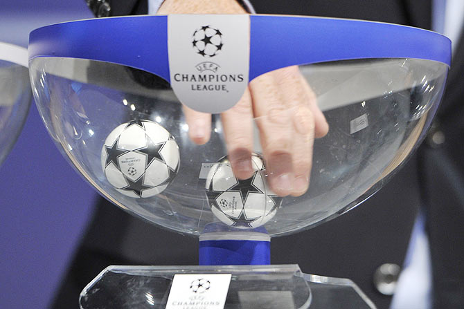 Air of deja vu in UEFA Champions League draw
