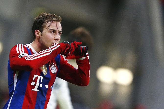 Rediff Sports - Cricket, Indian hockey, Tennis, Football, Chess, Golf - Dortmund in talks with Bayern over Goetze return