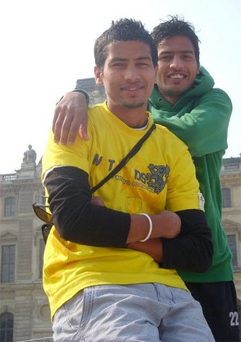 Yuvraj and Devendar Walmiki