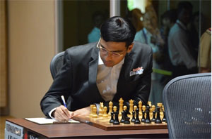 V Anand finishes fifth at Zurich Chess