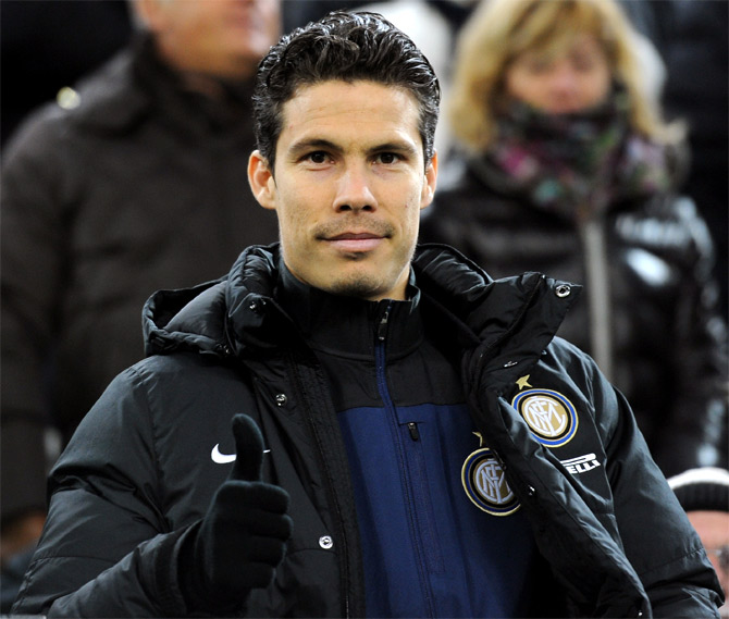Hernanes of FC Inter Milan
