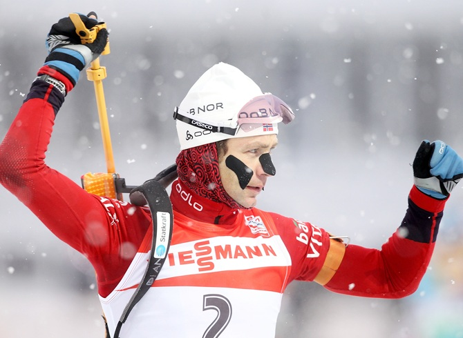 Ole Einar Bjoerndalen of Norway