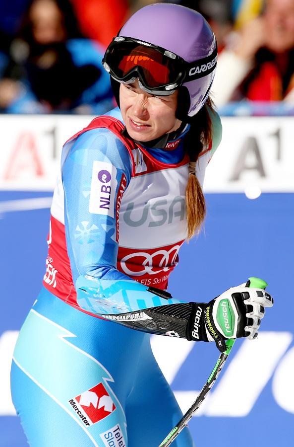 Tina Maze of Slovenia