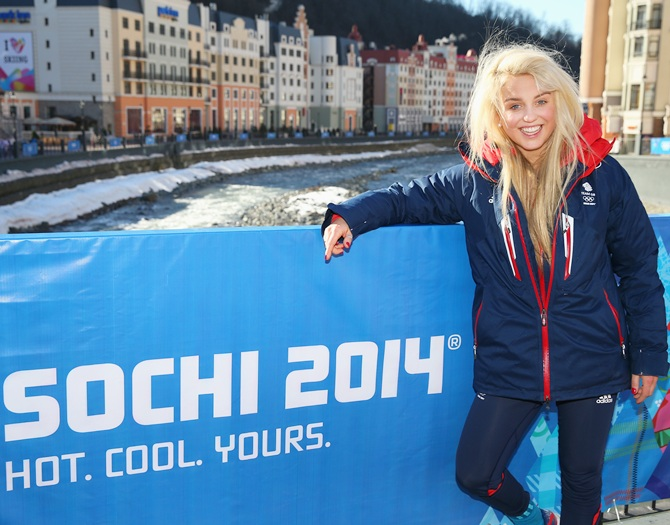 PHOTOS: The hottest stars at the Winter Olympics