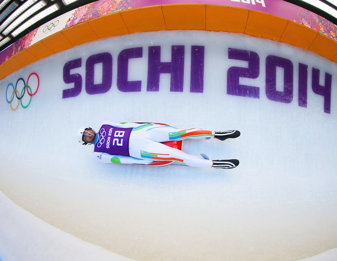 Independent Olympic Participant Shiva Keshavan