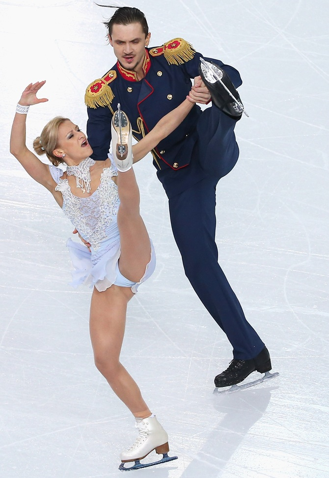 Tatiana Volosozhar and Maxim Trankov of Russia