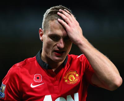 Captain Vidic to leave Manchester United at end of season