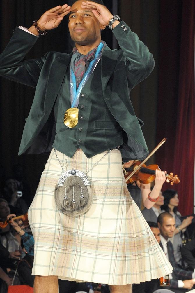 Olympian Shani Davis.
