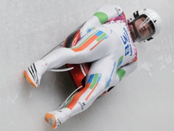 SHiva Keshavan during his routine at the Games