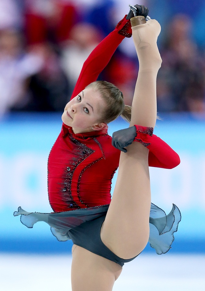 Julia Lipnitskaya  of Russia.