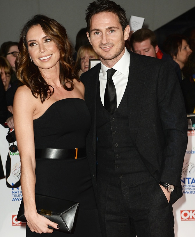 Christine Bleakley and Frank Lampard.