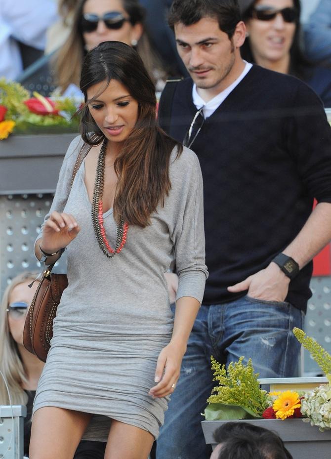 Sara Carbonero and Iker Casillas.