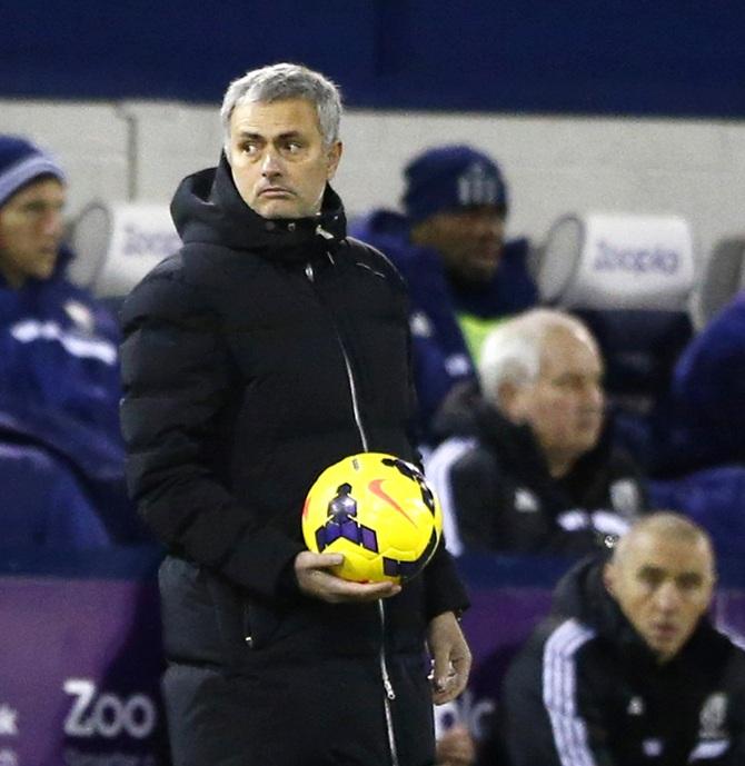 Chelsea manager Jose Mourinho.
