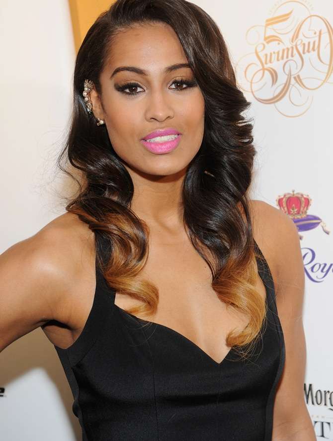 WNBA player and model Skylar Diggins.
