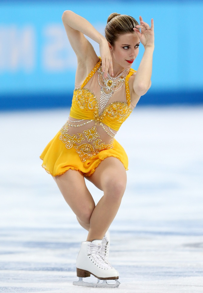 Ashley Wagner of the United States.