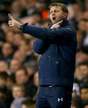 Spurs manager Sherwood calls Dnipro pitch a disgrace