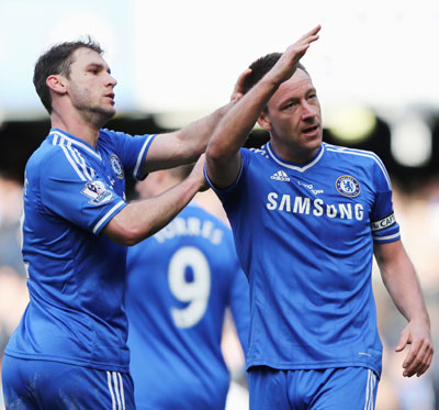 EPL: Terry's late effort helps Chelsea end Everton's resistance
