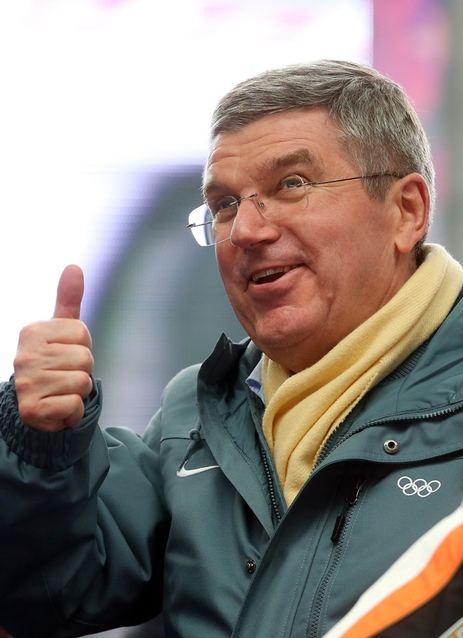 International Olympic Committee (IOC) President Thomas Bach.