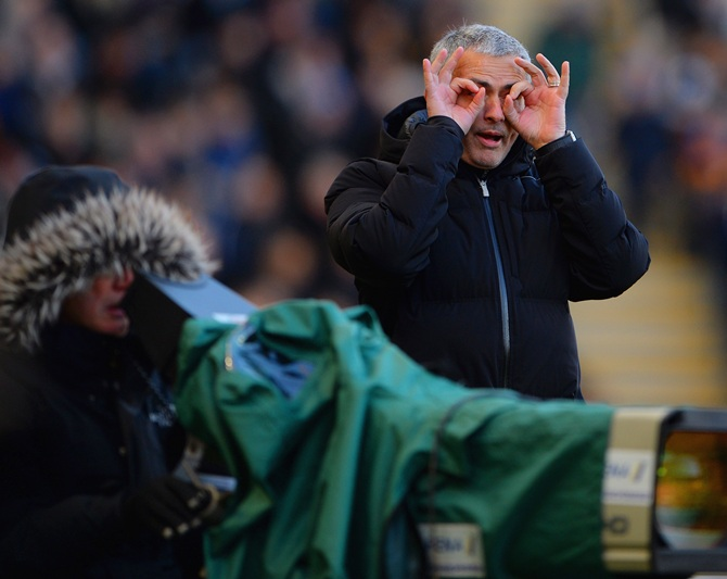Jose Mourinho manager of Chelsea.