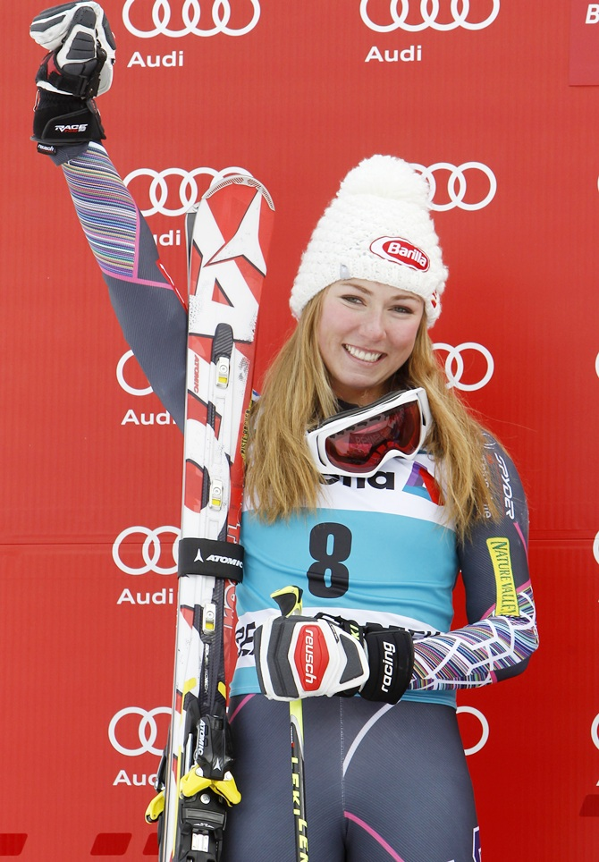 Mikaela Shiffrin of the USA.