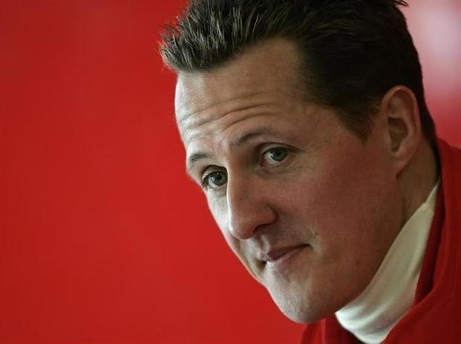 'News about Schumacher not good'