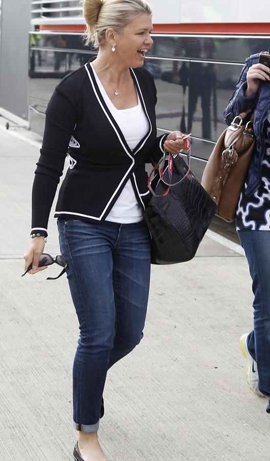 Corinna, wife of Formula One driver Michael Schumacher