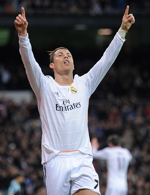 La Liga: Late double from Ronaldo seals flattering Real win
