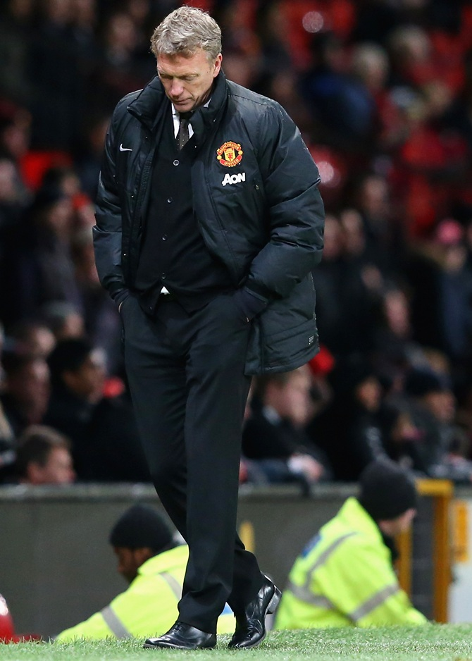 Manchester United manager Davi