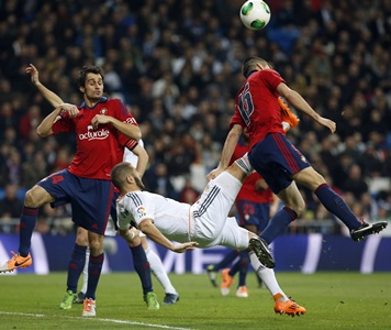 King's Cup: Benzema, Jese put Real in charge against Osasuna