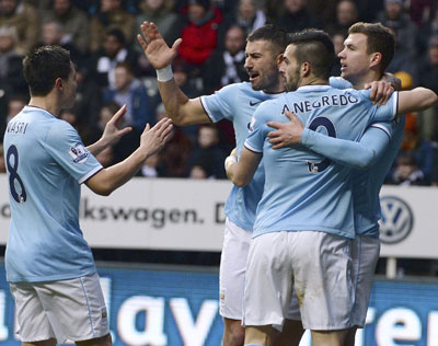 EPL: Manchester City go top after controversial win at Newcastle