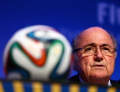 FIFA chief Sepp Blatter