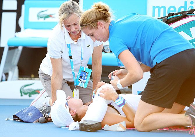 Australian Open: Stars burned out at Melbourne Park