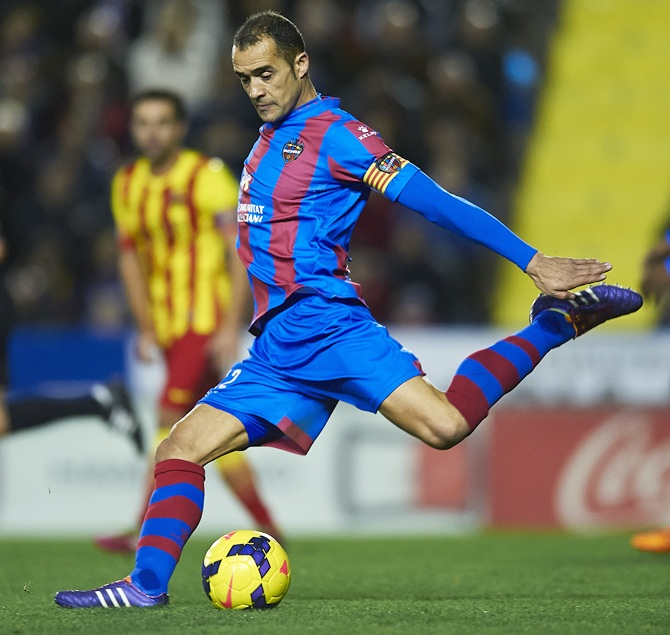 Juanfran Garcia of Levante