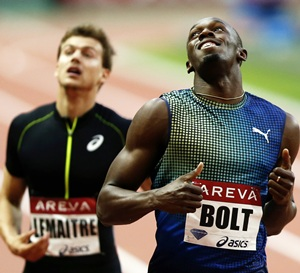 Bolt set to light up Paris Diamond League again
