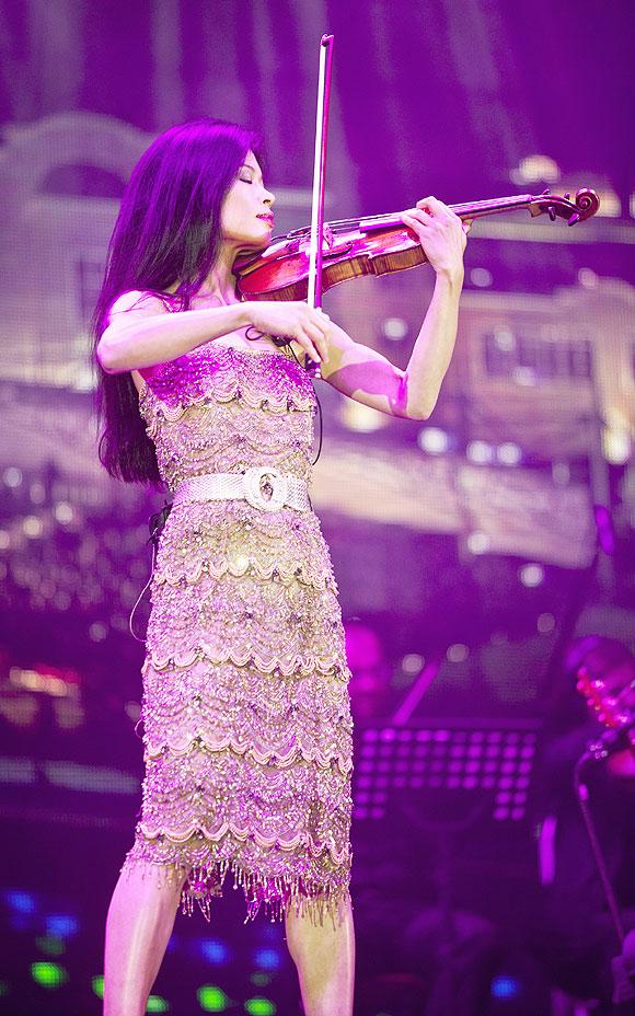Musician Vanessa-Mae
