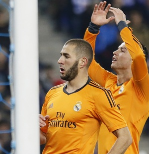 King's Cup: Benzema header sinks Espanyol to put Real in charge