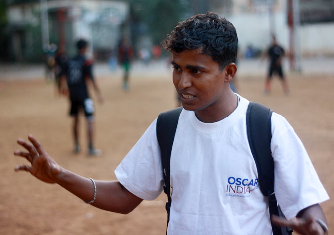 Ashok Rathod's mission is to change lives through football