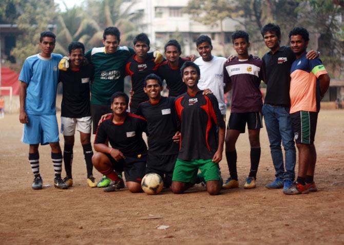 A proud OSCAR team.