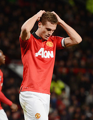 EPL: Vidic loses appeal over three-match suspension