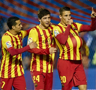 King's Cup: Tello hat-trick lifts Barcelona to win over Levante