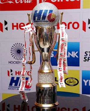 The Hockey India League trophy